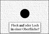 """""""Fleck oder Loch?"""""""